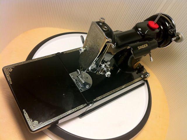 singer featherweight sewing machine manual