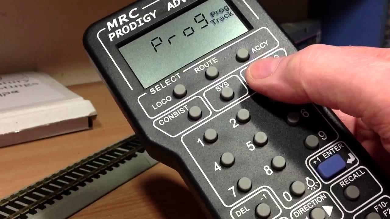 mrc prodigy advance 2 manual