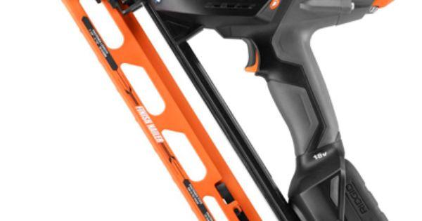 ridgid cordless finish nailer manual