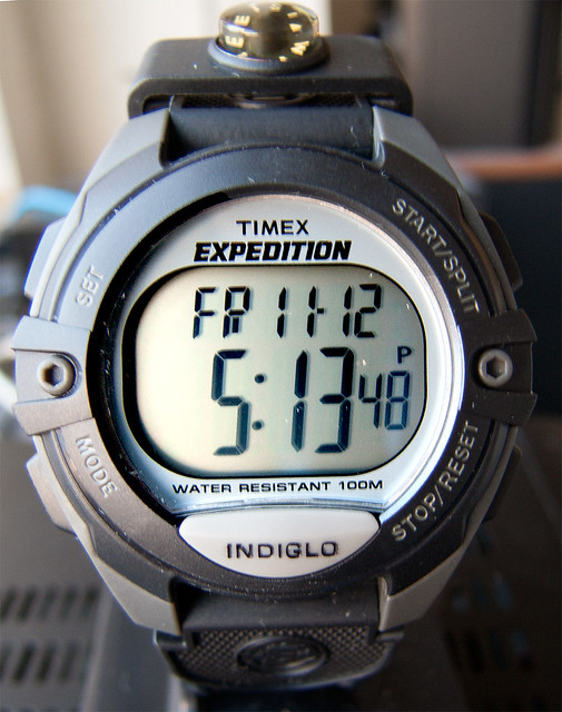 timex expedition digital compass manual