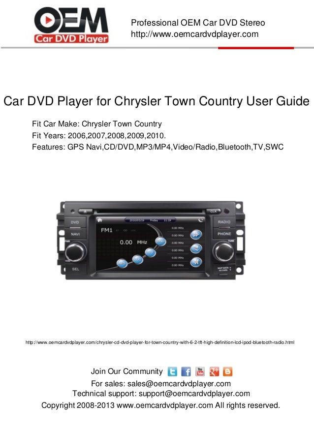 2008 chrysler town and country repair manual pdf