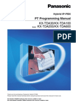 panasonic kx tda100 programming manual