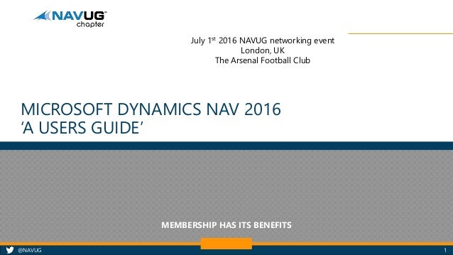 microsoft dynamics nav 2017 user manual pdf