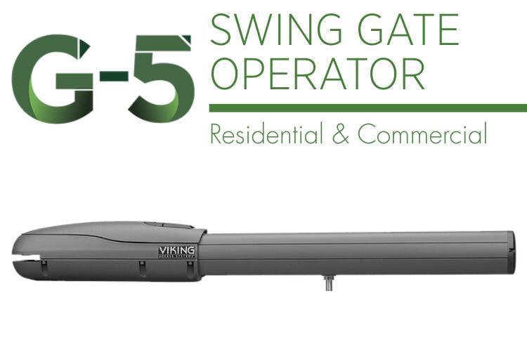 viking g5 gate operator manual