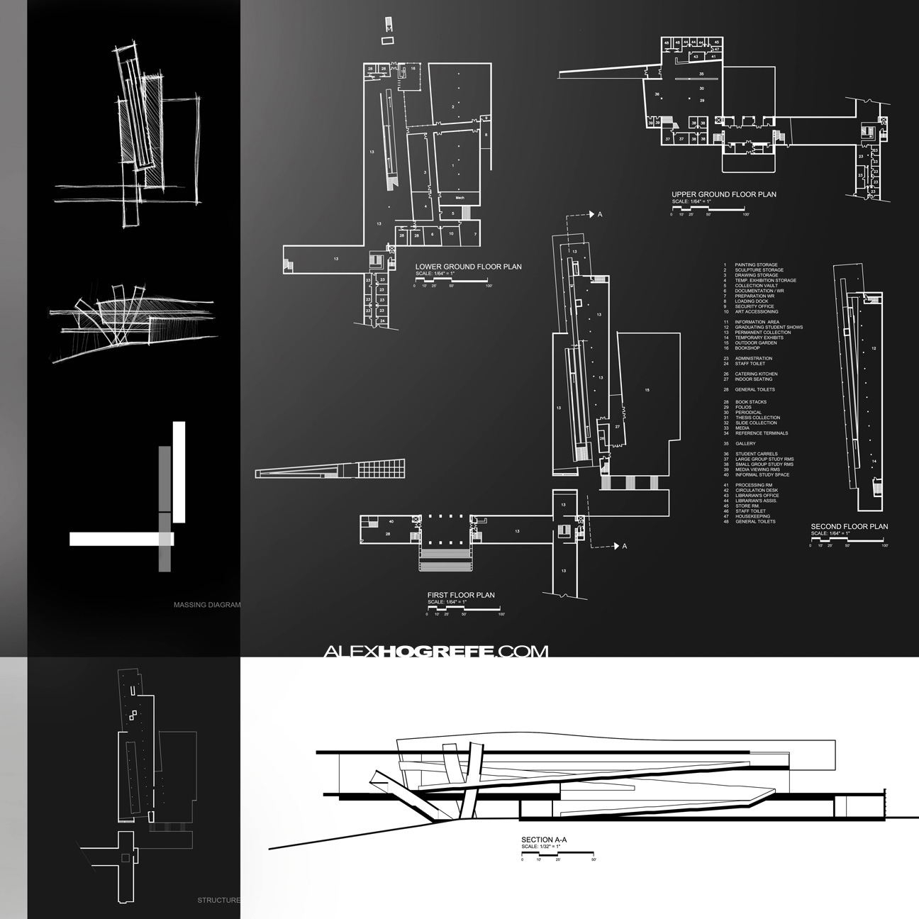 architectural design manual presentation sheets