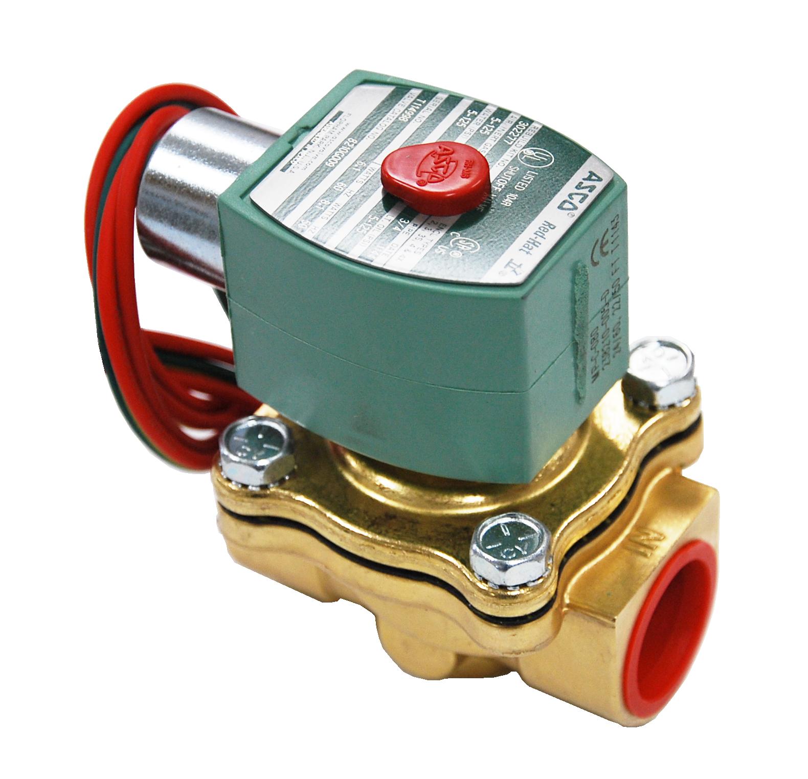 asco redhat solenoid valve manual