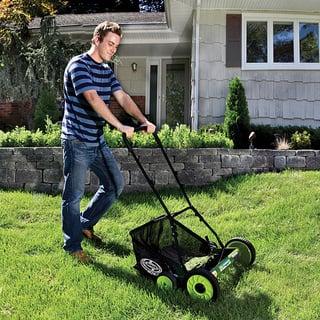 yardworks 14 in reel lawn mower manual