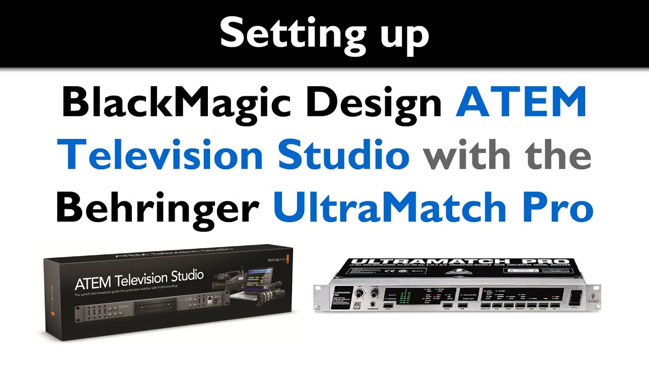 blackmagic atem television studio manual