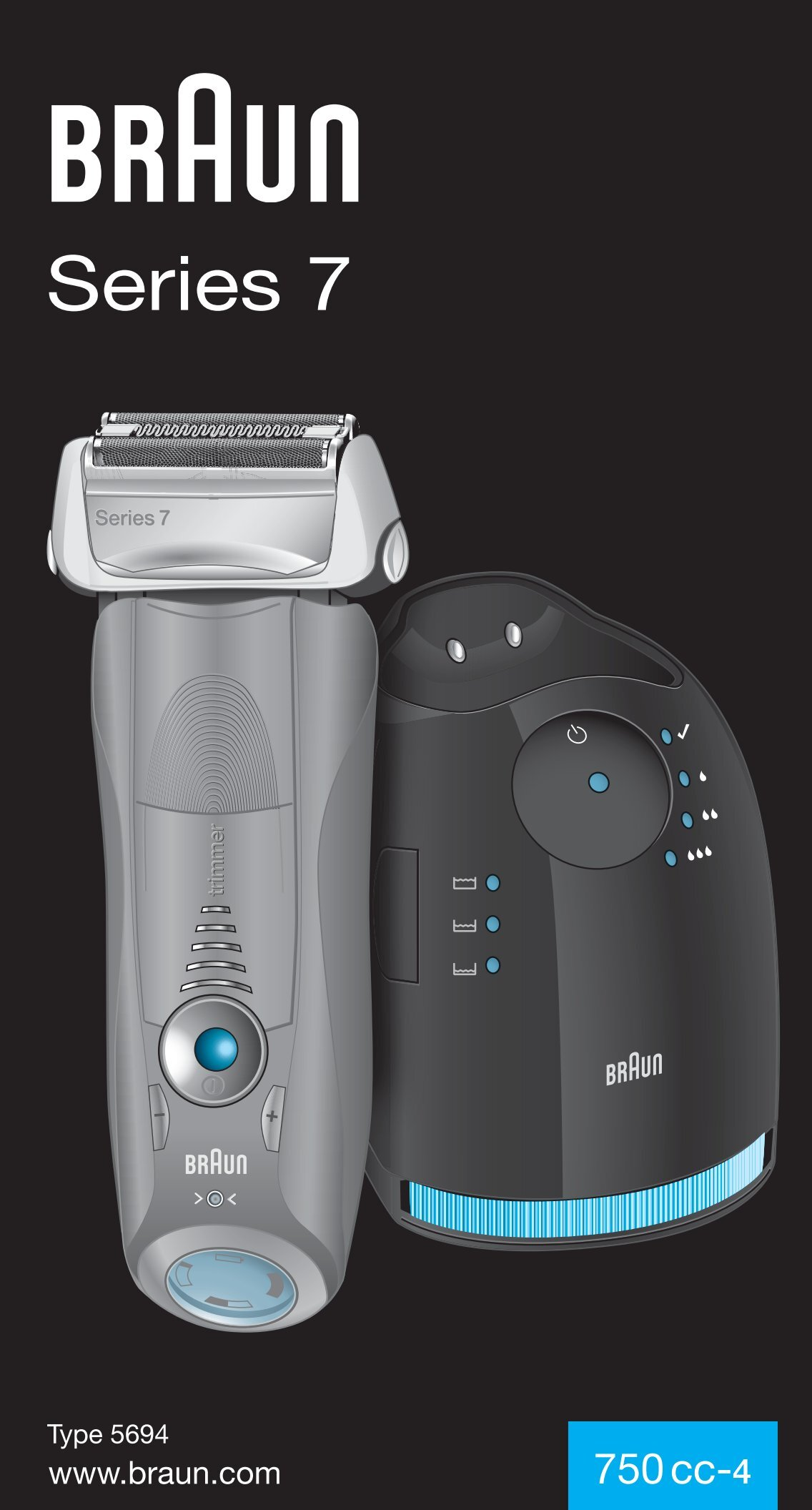braun series 7 user manual
