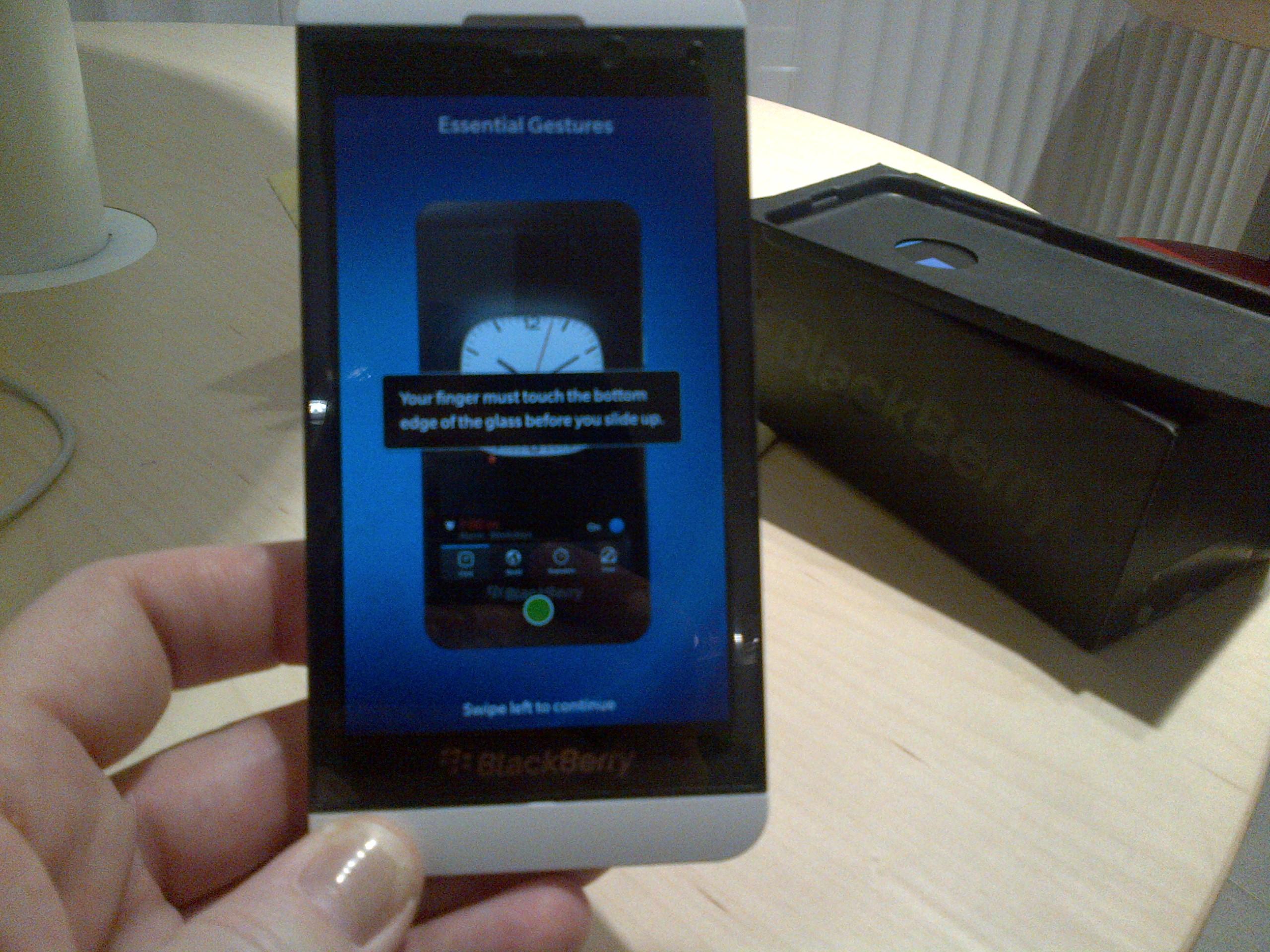 blackberry z10 manual software update