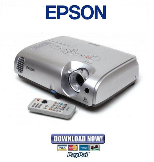 epson lcd projector model h309a manual