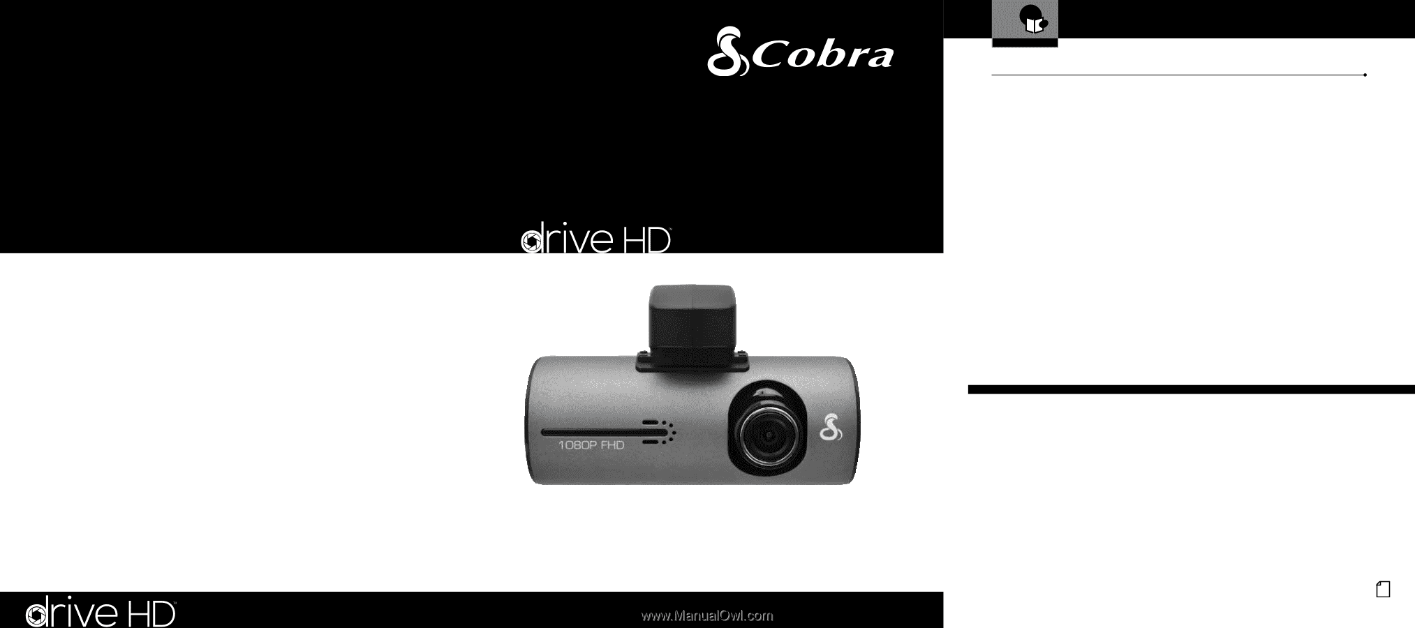 cobra dash cam 840 manual