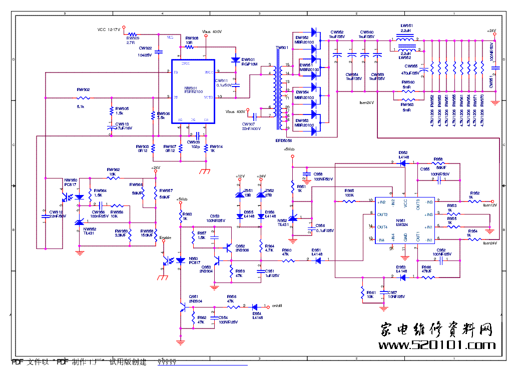 china tv circuit diagram service manual