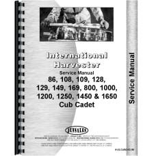 cub cadet 1650 service manual