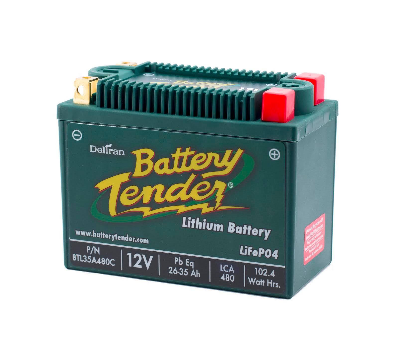 deltran battery tender plus manual