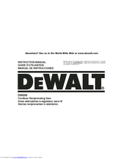 dewalt dw9116 battery charger manual
