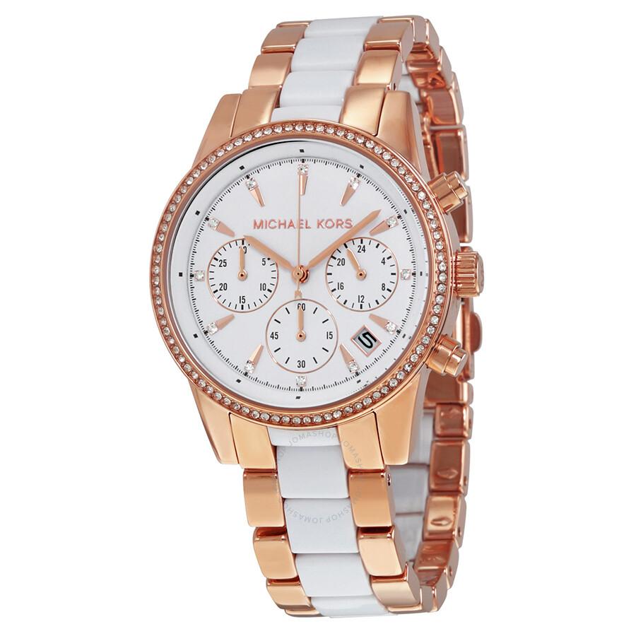 michael kors watch manual chronograph