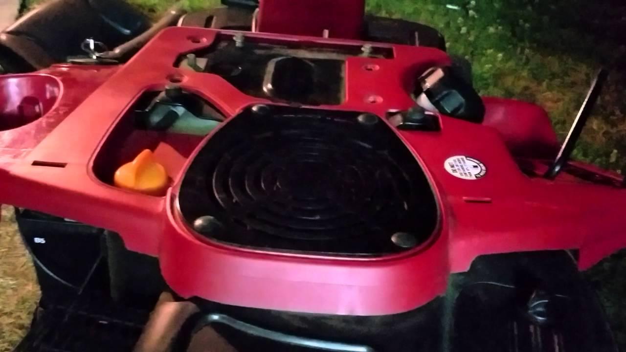 troy bilt 30 inch riding mower manual
