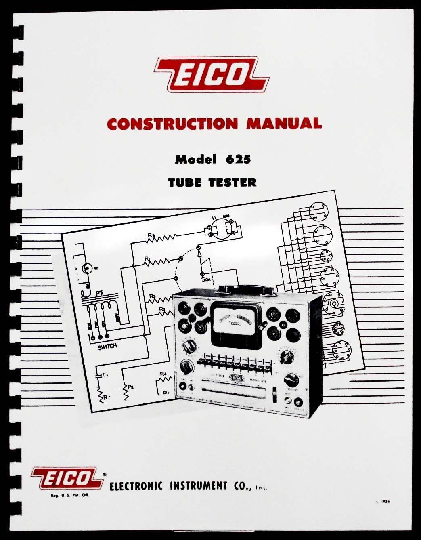 eico 635 tube tester manual