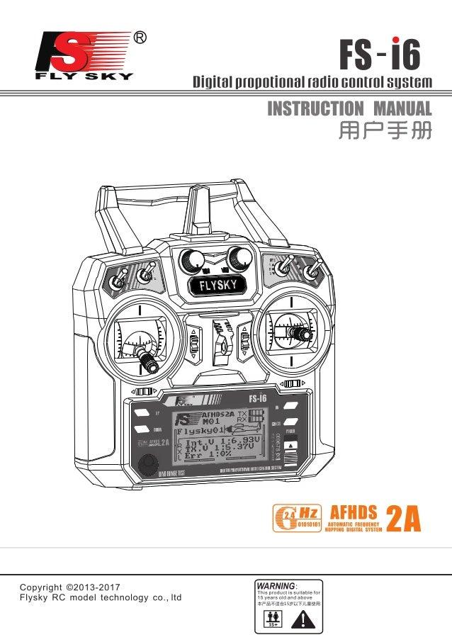 flysky fs i6 manual download