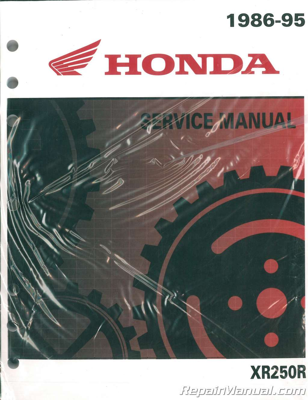 1986 honda fourtrax 250 service manual