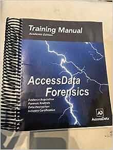 accessdata forensics training manual academic edition