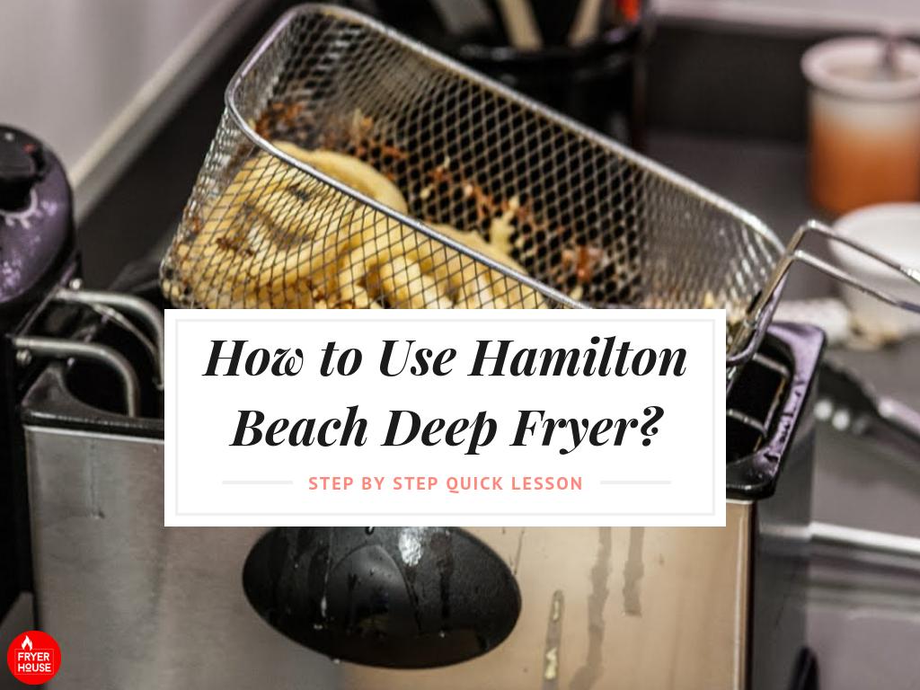 hamilton beach deep fryer 35035c manual