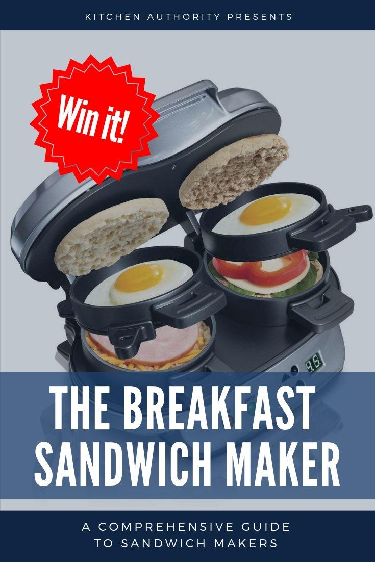 hamilton beach dual breakfast sandwich maker manual