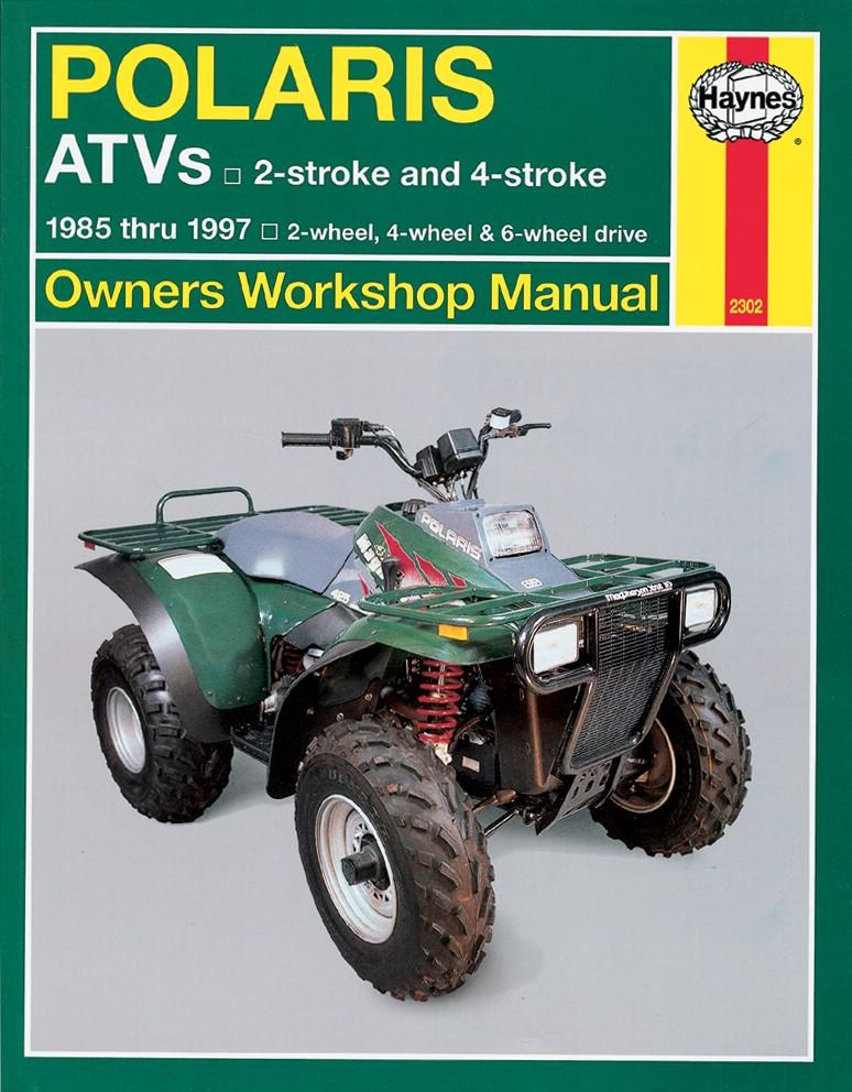 haynes polaris atv repair manual
