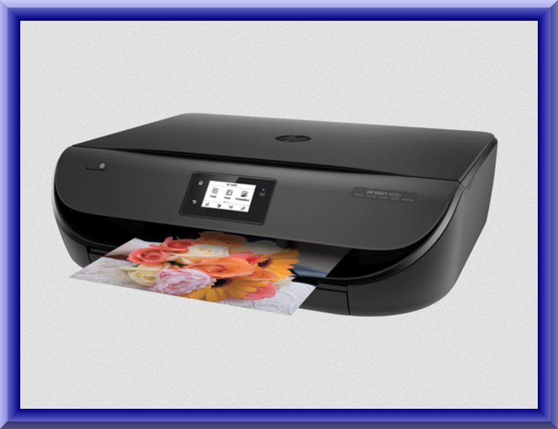hp envy 4500 wireless printer manual