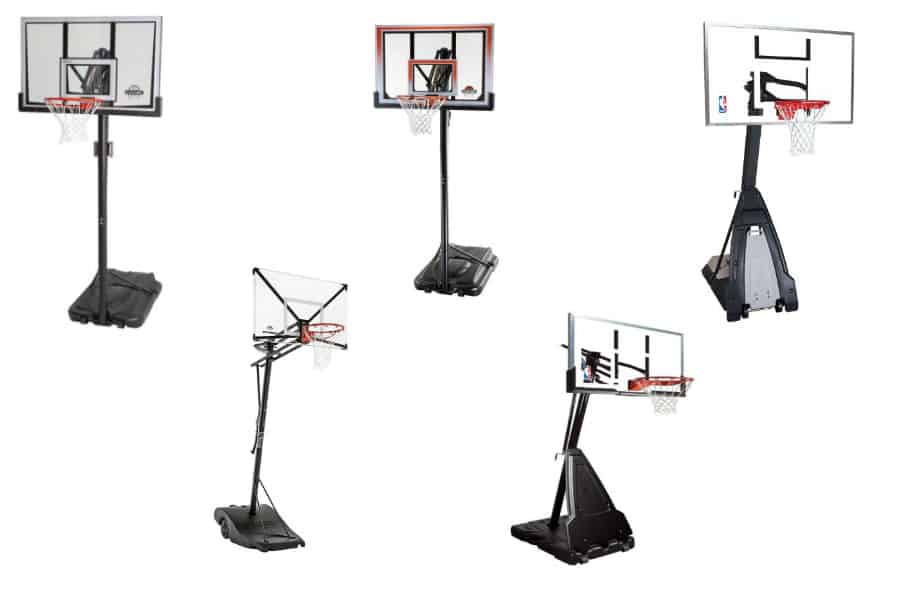 huffy 44 composite portable basketball system manual