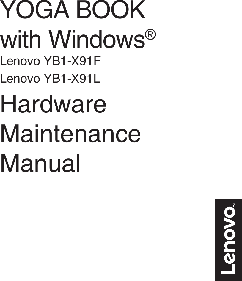 lenovo yoga book user manual