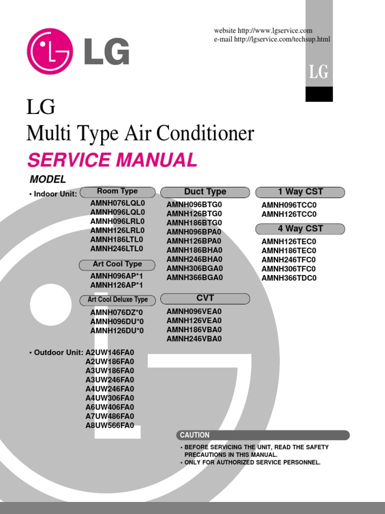 lg art cool air conditioner manual