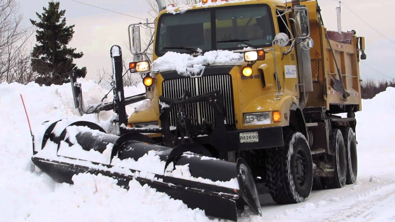manual snow plow for truck