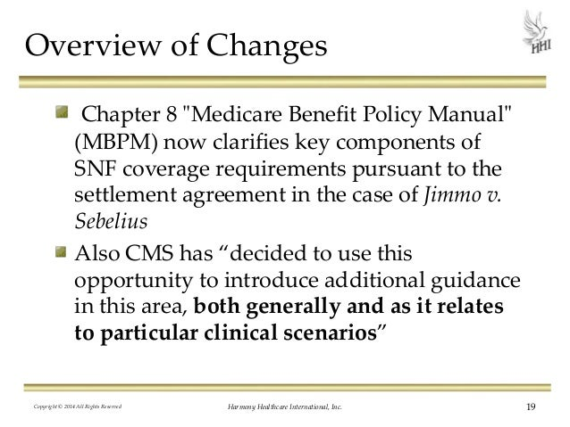medicare benefit policy manual chapter 15