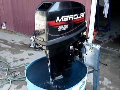 mercury 25 hp outboard manual free