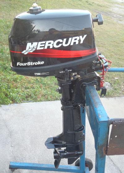 mercury 4 hp outboard motor manual
