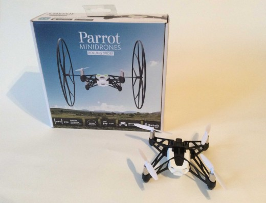 parrot minidrone rolling spider manual