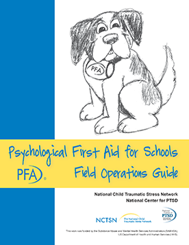 psychological first aid training manual
