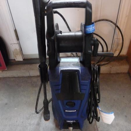 simoniz pressure washer 1900 manual