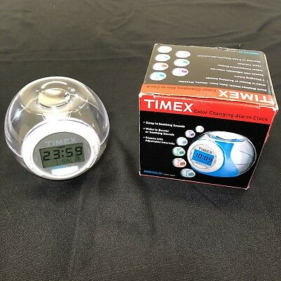 timex nature sounds alarm clock t309t manual