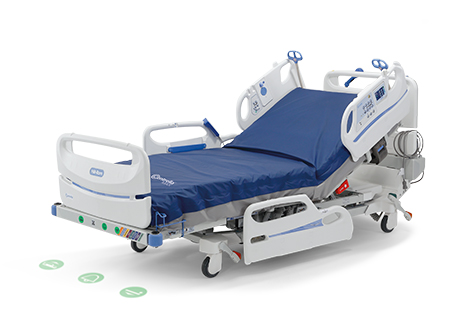 totalcare spo2rt 2 icu bed manual