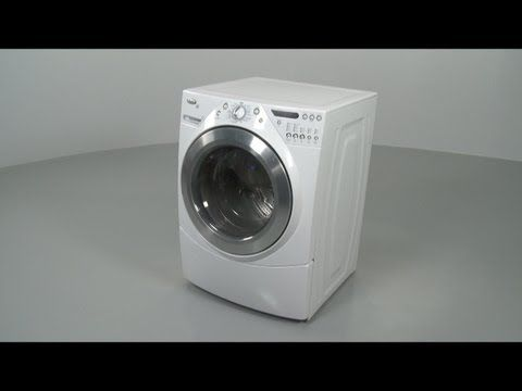 whirlpool front load washer manual