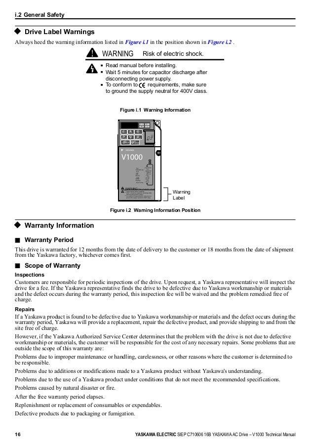 yaskawa v1000 technical manual pdf